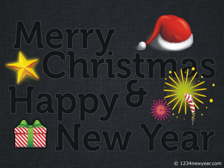 Best Merry Christmas And Happy New Year Greeting Cards Images On
