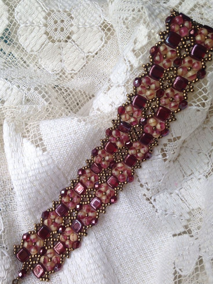 A personal favorite from my Etsy shop https://www.etsy.com/listing/239020516/shades-of-ruby-luster-double-pinnacle