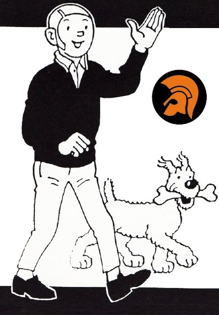 Skinhead Tintin