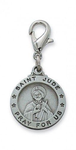 St. Jude Clipable Charm
