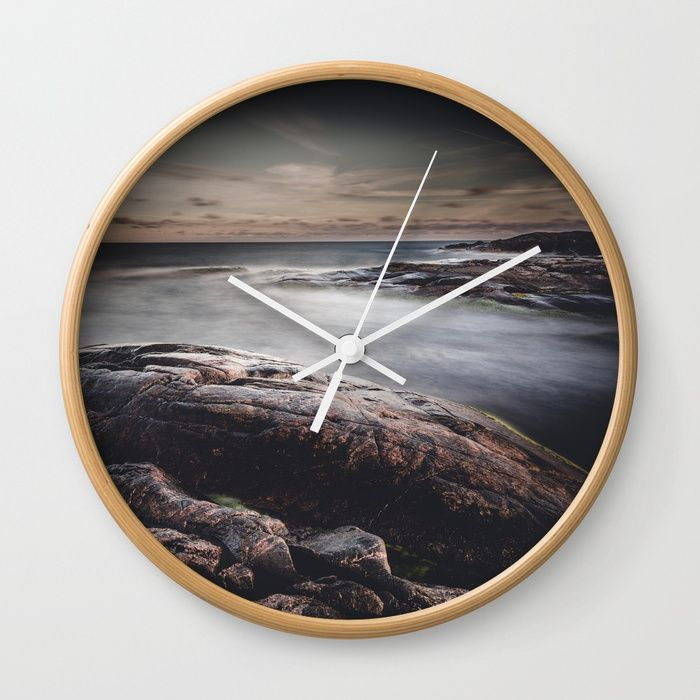 We are colliders Wall Clock by HappyMelvin | Society6