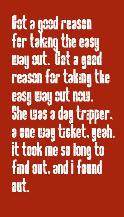 The Beatles - Day Tripper - song lyrics, music lyrics, songs, song quotes, music quotes
