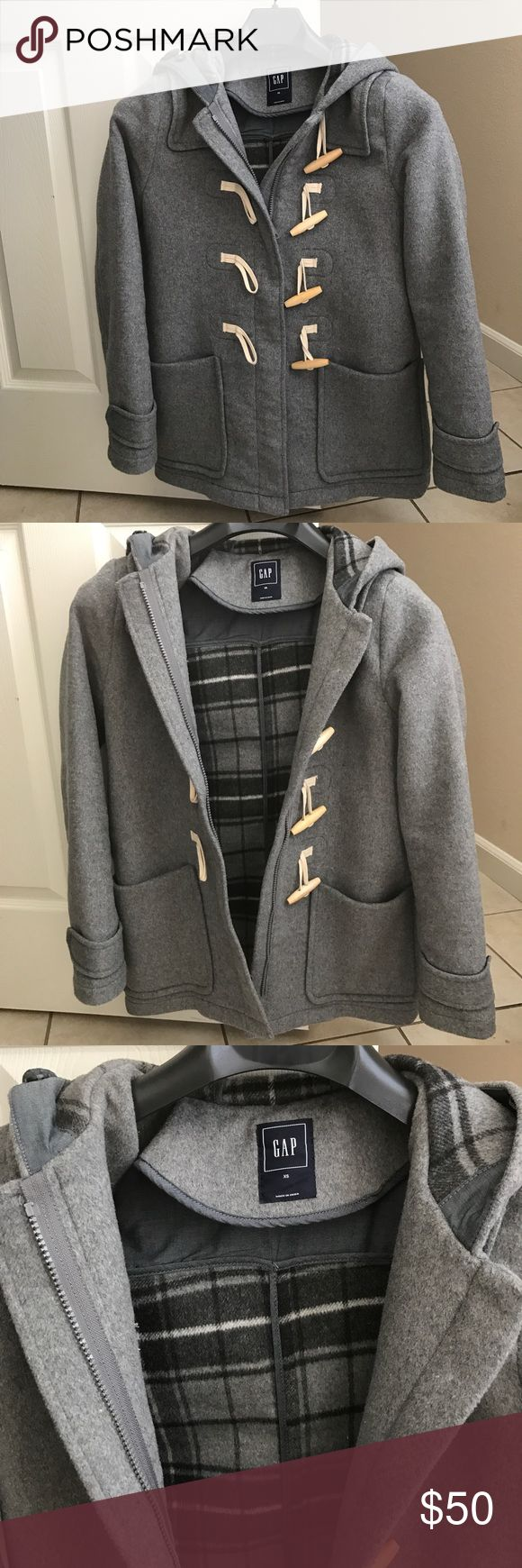 NWOT wool gap coat Ordered online turned out a little big for me GAP Jackets & Coats Pea Coats