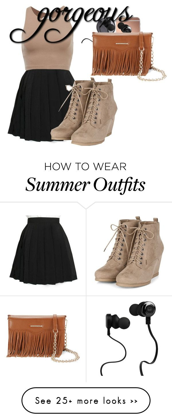 """School outfit"" by fashionstyle106 on Polyvore featuring COS, Mura, Wood Wood, Monster and Rebecca Minkoff"