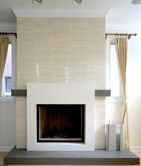 Modern Fireplace Design Pictures Remodel Decor And