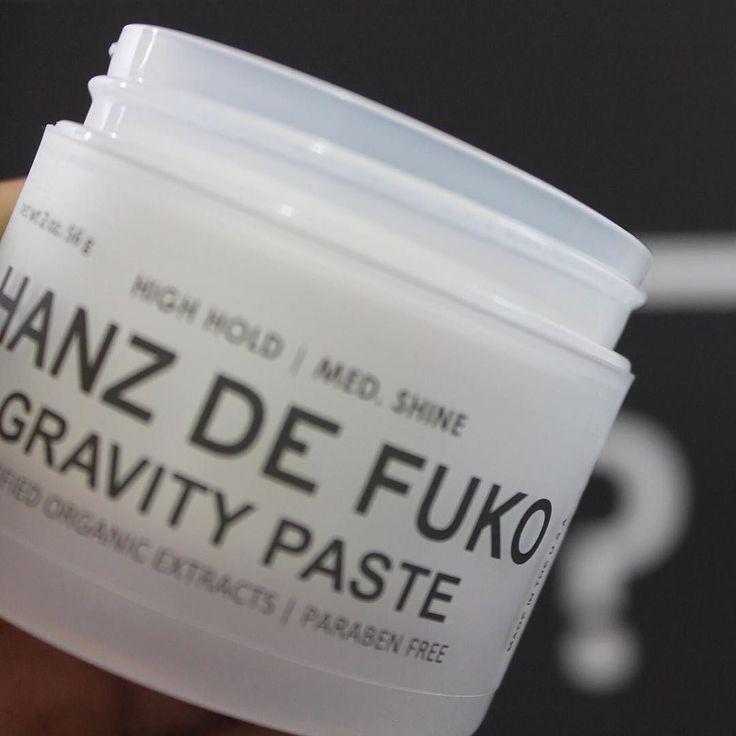 Close up of Hanz de Fuko Gravity Paste!  . . . . #ykeman #menshair #menstyle #mensgrooming #mensgifts #groomingformen #hanzdefuko #hairstyle #stylinghair #gravitypaste #hairwax #giftsforhim