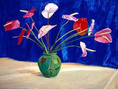 David Hockney / Anteriums 1995