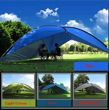 2016 on sale 480*480*480*200cm waterproof canopy  huge sun shelter bivvy awning beach pergola fishing outdoor camping tent