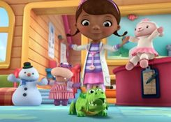 DoctoraJuguetesJuegos.com - Juego: Rompecabezas Presentación de los Amigos - Juegos de Puzzles de Doctora Juguetes Disney Jugar Gratis Online