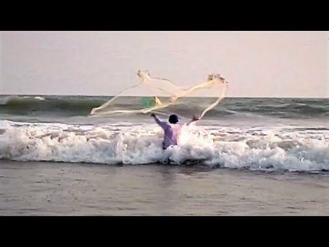 Fishing in Sea at Bay of Bengal - Lot of Sea Fishing  at Cox's Bazar Sea...