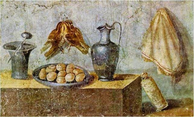 Bodegón ~ Casa Julia Felix ~ Pompeya