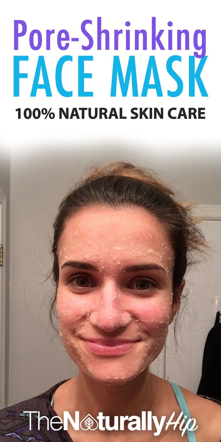 Pore-Shrinking Scrub | One of my favorite natural skin remedies, makes your skin feel so CLEAN!