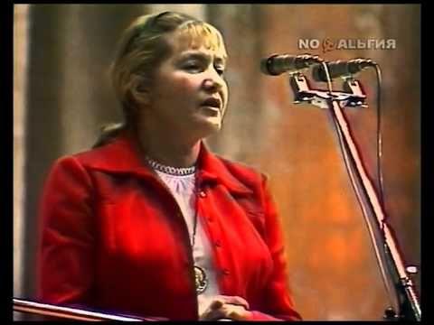 Юлия Друнина читает стихи - YouTube