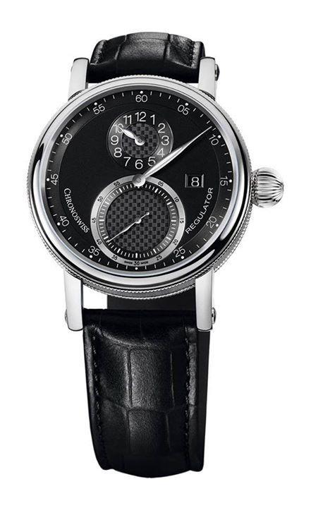 """CHRONOSWISS Regulator Classic Date  Con su carátula tridimensional, justificada a la """"usanza"""" de reloj regulador, una corona tipo cebolla y grabado guilloché, destaca el enorme valor artístico en una pieza de precisión máxima.  Precio y punto de venta por inbox.  #WatchesWorld, los relojes de tu vida. #watch  #watches  #watchoftheday  #luxury #rolex  #timepiece    #watchcollector    #omega  #rolexwatch   #swissmade  #luxurywatch #chronograph       #luxurywatches #watchlover"""