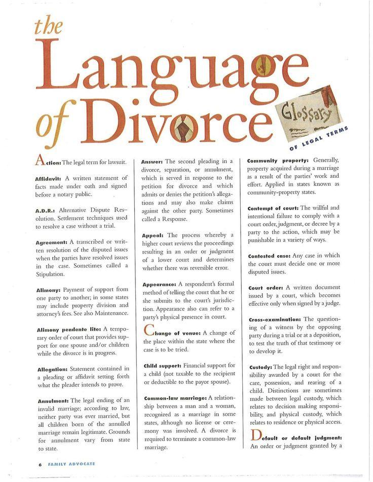 25+ best Divorce law ideas on Pinterest How to divorce with kids - affidavit statement of facts