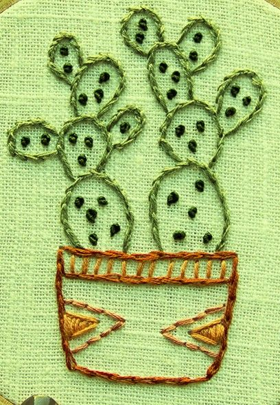 Best embroidery cacti fungi images on pinterest