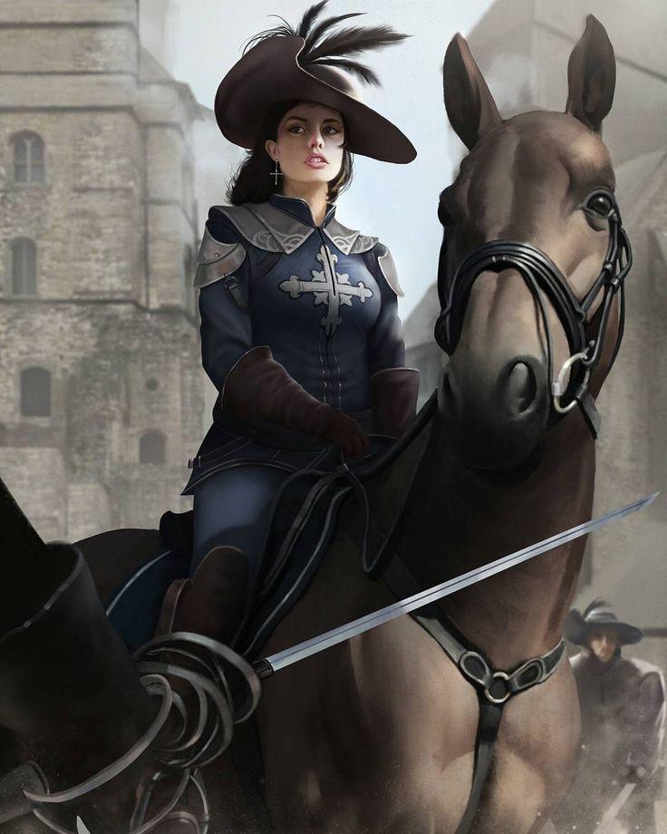 Title: Valentine D' Artagnan . . . Artist: Rizky Nugraha From #artstation . . . . #tumblr #deviantart #fantasy #fantasyart #art #artwork #iloveart #artist #artoftheday #illustration #sketch #drawing #anime #instagood #ilovemyfollowers #instagram #digitalpainting #Knight #warriors #concept #conceptart by horseman09