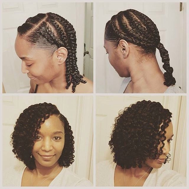 hair braid out styles hair2mesmerize by ms teri1211 i tried something a 8685