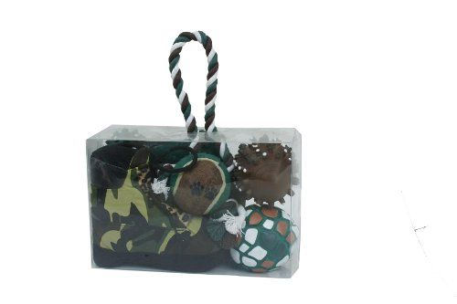 PET LIFE Camouflage Pet Toy Gift Set -- Continue to the product at the image link.