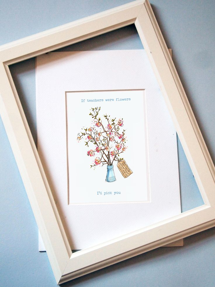 Favourite+Teacher+Personalised+Print, £25.50
