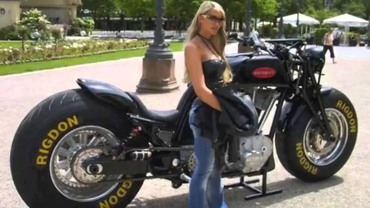 2014 Leonhardt Gunbus 410 The world's biggest motorcycle