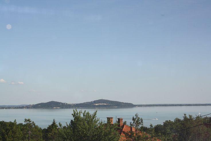 Panorama - Bacchus - Badacsony -Lake Balaton - Hungay