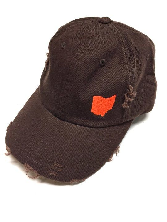 d5b268467f78e Browns - Ohio Embroidered Baseball Hat