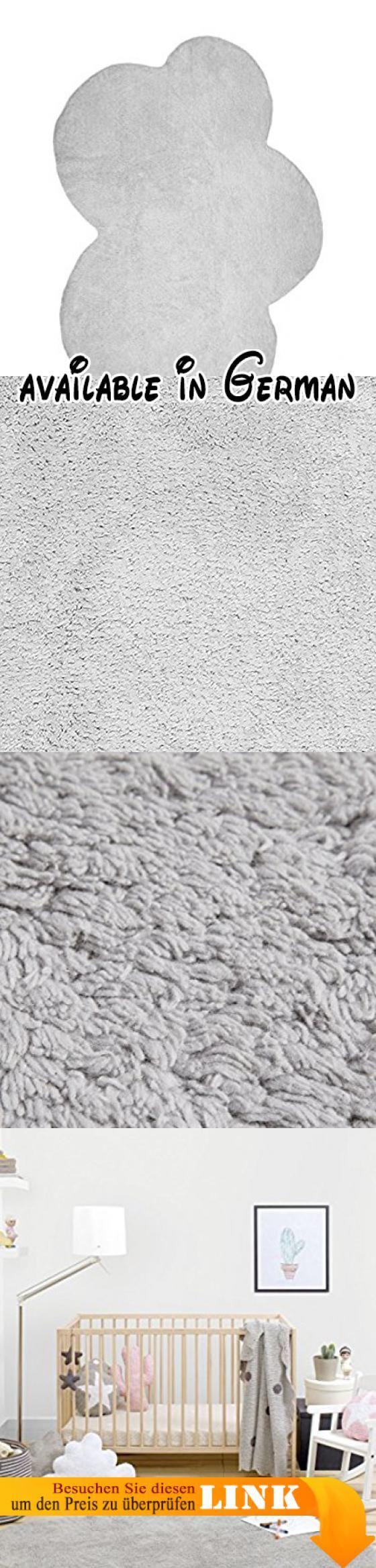 Happy Decor Kids HDK-207 Washable Rug, grau. Waschbar teppich. 120 x 160 cm. 100% baumwolle. Handgefertigt. Natürliche farbstoffe und hypoallergen #Baby #BABY_PRODUCT