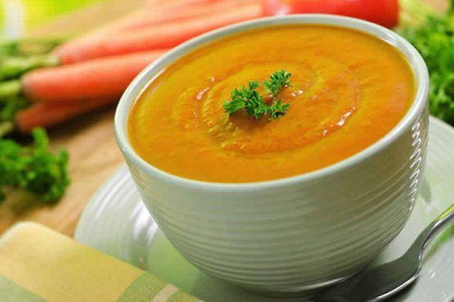Crème de carotte au thermomix