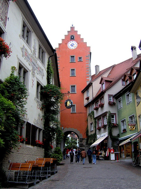 Meersburg. This cute hillside town across from Konstanz on Bodensee has many quaint shops, local wine and a few hidden gardens.  We would take the ferry and visit often. Don't forget to visit the torture museum.