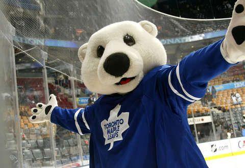 Carlton the Bear- Toronto Maple Leafs Mascot
