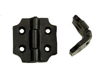 Premium Small Hinge Surface Mount with Cut-out corners