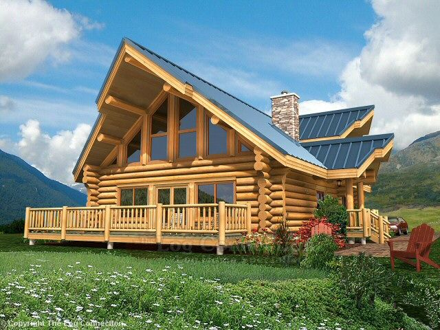 Juniper Log Home Design By The Log Connection Log Homes Small Log Homes Log Home Plans