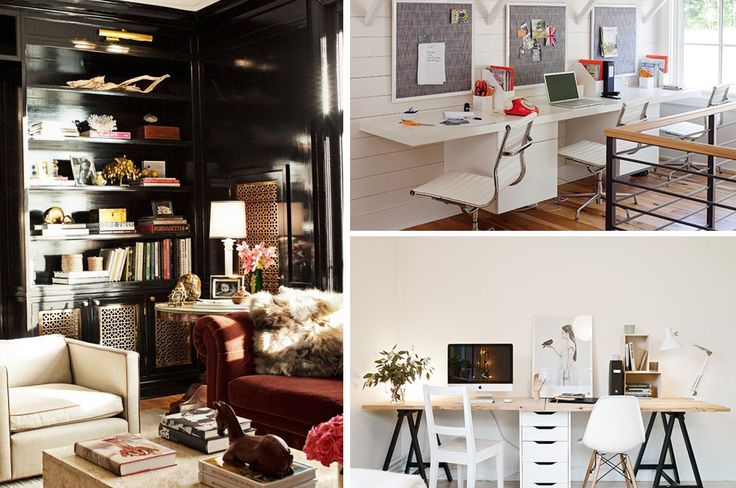 36 best images about dream home office library on pinterest offices craft rooms and colorful rugs - Cool office plants ...