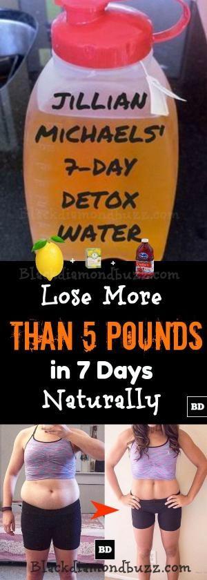 Jillian Michaels' 7 Days Detox Cleanse Water Recipes- Lose More Than 5 Pound…