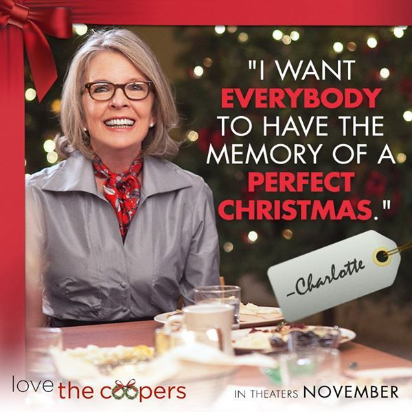 Love the Coopers, movie and giveaway #LoveTheCoopers  http://fivedollarshake.net/index.php/2015/11/love-the-coopers-movie-and-giveaway-lovethecoopers-ad/