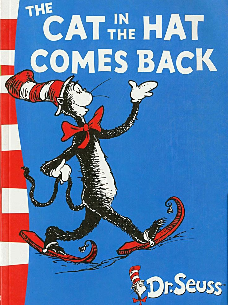 Cat in the Hat Funny books for kids, Dr seuss books