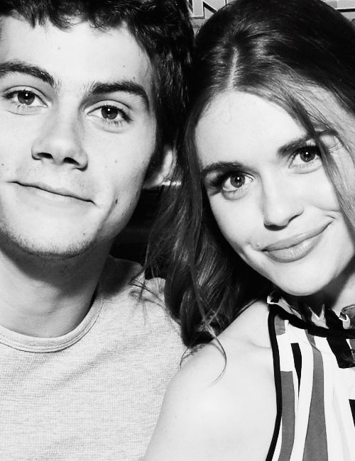 dylan o´brien and holland roden - teen wolf, rumor Holland isnt returning and that makes me very sad! so many have left from original cast :(