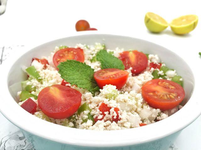 1000 Fit Meals: RECETAS FITNESS: Tabulé de cous cous lowcarb