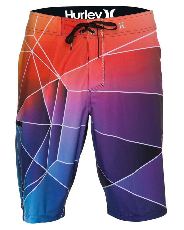 Geometric awesome - PHANTOM HEX MENS BOARDSHORTS