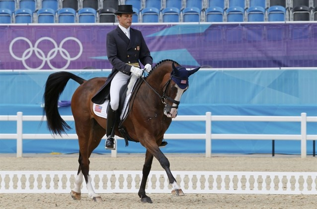 U.S. Eventing Dressage Riders In Action - Equestrian Slideshows | NBC Olympics