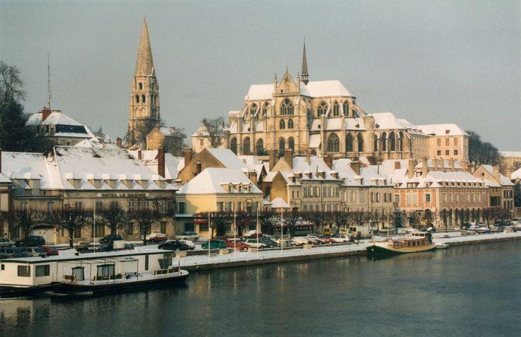 Auxerre en hiver #Yonne #Bourgogne