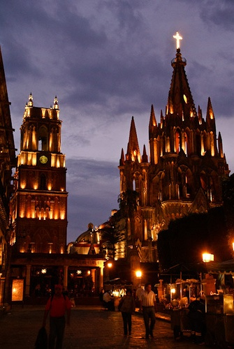San Miguel de Allende Centro, Mexico. Can't wait to go back in July :)