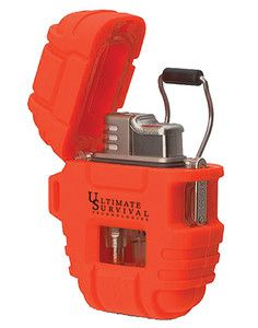 Windmill Delta STORMPROOF WINDPROOF All Weather LIGHTER Camping Survival Gear In orange!!!