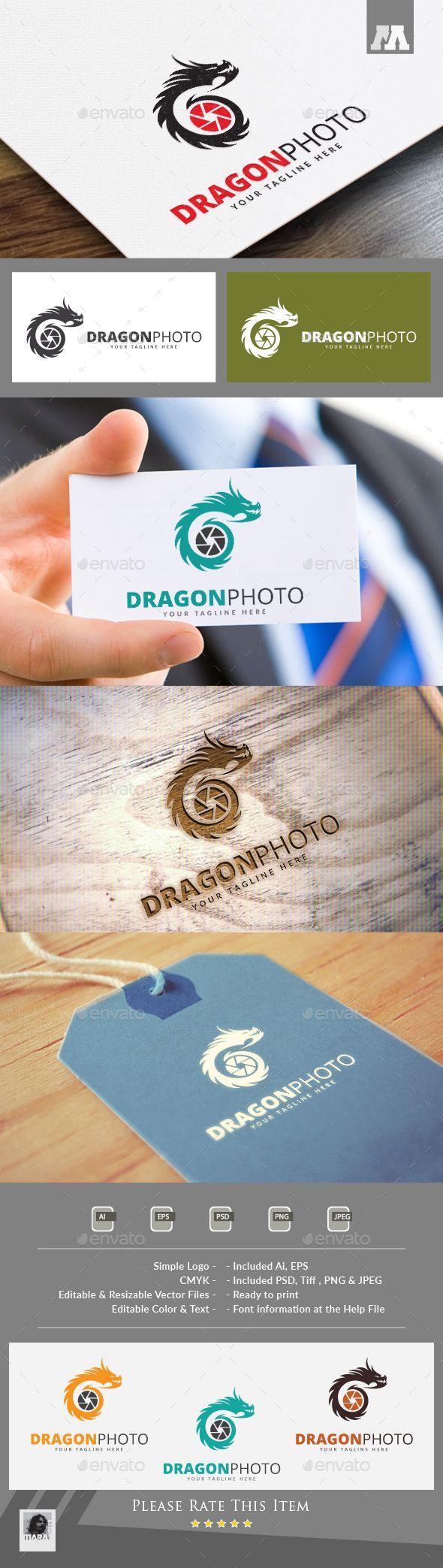 Dragon Photo Logo