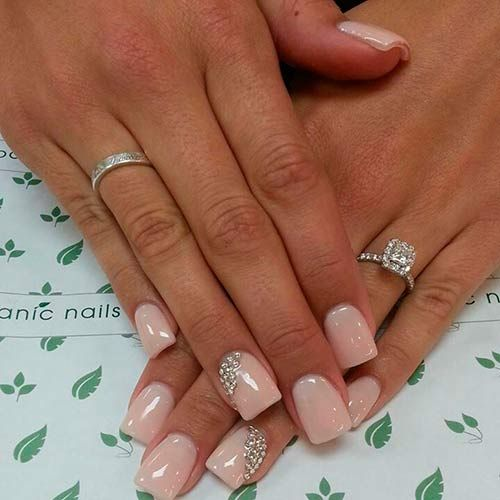 Top 50 Most Stunning Wedding Nail Art Designs  #weddingnails #naildesigns #nailsBlushes Pink Nails, Nails Design, Wedding Nails, Rings Fingers, Beautiful, Nails Ideas, Weddingnails, Nails Art Design, Hair