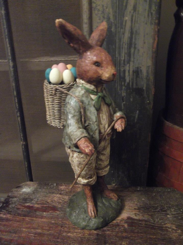 Mr. Bunny at *The Farm*.