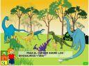 Que comían los dinosaurios?: Colorea Dinosaurio, Los Dinosaurios