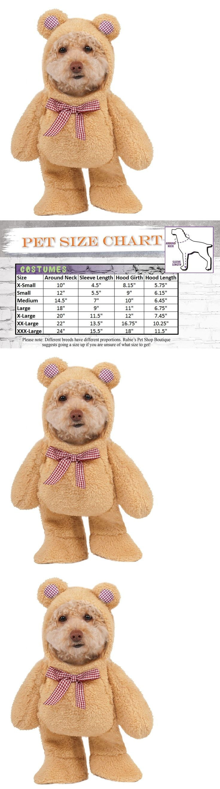 Costumes 52352: Dogs Halloween Pet Suit Costume Walking Teddy Bear Funny Cute Cats Warm Winter -> BUY IT NOW ONLY: $33 on eBay!