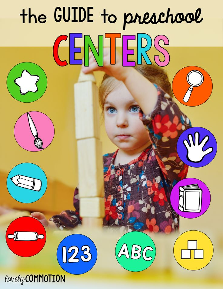 FREE Guide to Preschool Centers from Lovely Commotion
